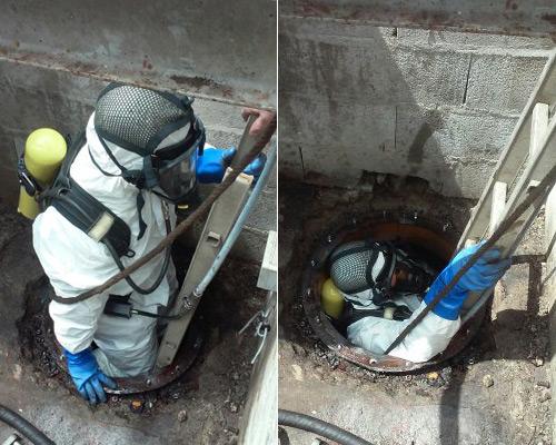 SEPS | Démantèlement de cuves à Huiles, Glycol et Fioul -2