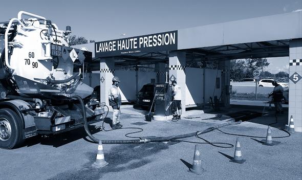 SEPS | GESTION ET VALORISATION DES DÉCHETS INDUSTRIELS | Entretien des séparateurs à hydrocarbures