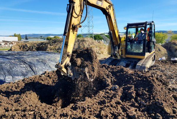 Traitement de terres polluées par des HAP
