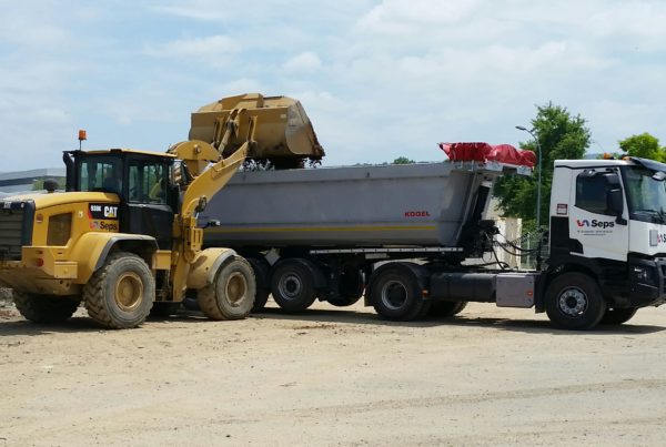 SEPS Recyclage terres dépolluées