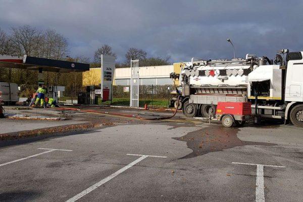 SEPS démantèlement station service